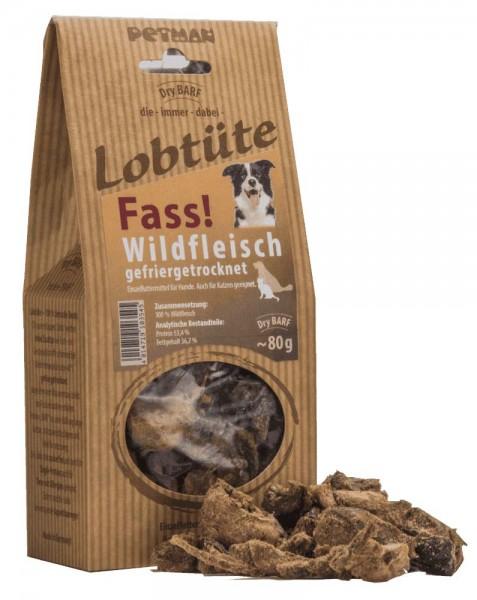 Petman Lobtüte - Fass! - Wildfleisch gefriergetrocknet