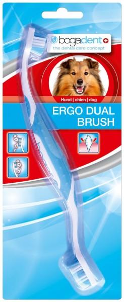 Bogadent ERGO DUAL BRUSH Zahnbürste für Hunde