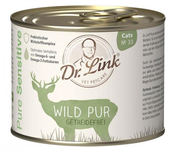 Dr. Link Katzenfutter Pure Sensitive Wild Pur