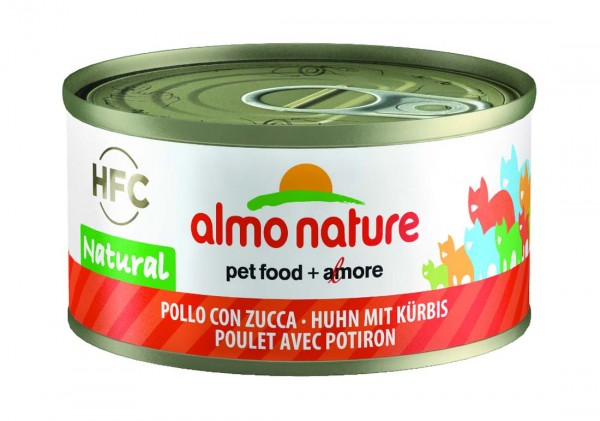 Almo Nature Katzenfutter HFC Natural mit Huhn & Kürbis