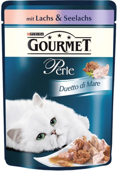 Gourmet Perle - 85g Lachs & Seelachs