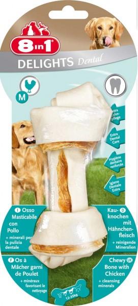 8in1 Delights Dental Kauknochen - M (1 Stück)