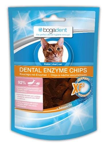 Bogadent DENTAL ENZYME CHIPS FISH für Katze