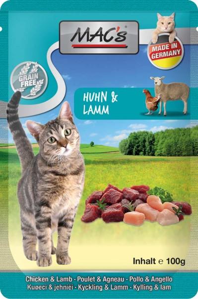 MAC's Cat Pouch Pack Huhn & Lamm (getreidefrei)