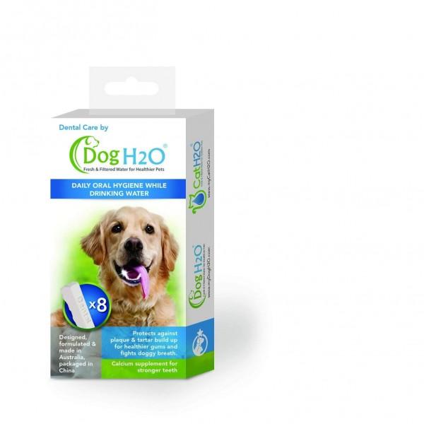 Lillylin Zahnpflegetabs für Trinkbrunnen DogH2O - 8 Stück