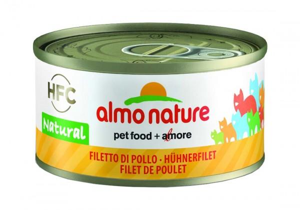 Almo Nature Katzenfutter HFC Natural mit Hühnerfilet