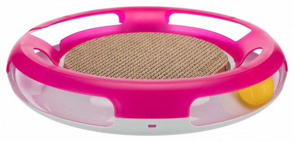 Trixie Katzenspielzeug Spielplatte Race & Scratch