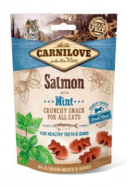 Carnilove Katze Crunchy Snack Lachs mit Minze 50 g