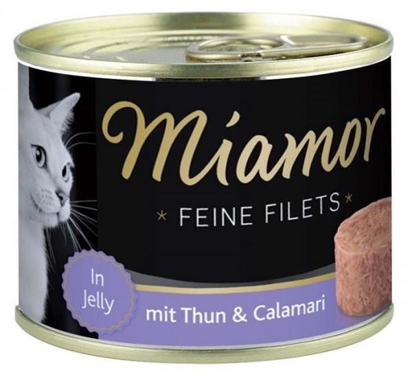 MIAMOR Feine Filets in Jelly mit Thun & Calamari - 185g