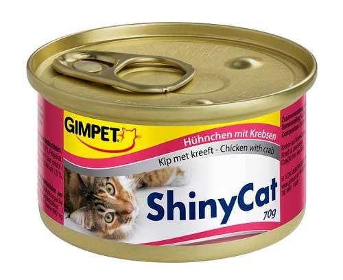 GIMPET ShinyCat Hühnchen mit Krebsen - 70 g