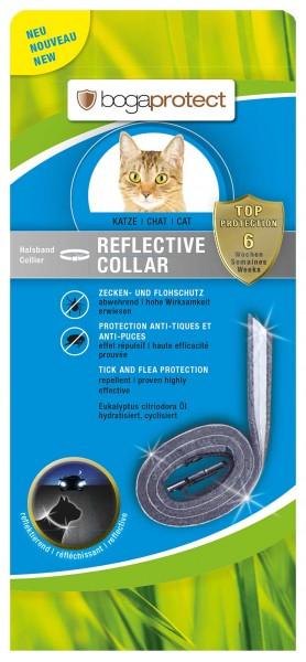 Bogaprotect Reflective Collar Katze - Ungezieferhalsband Reflektierend