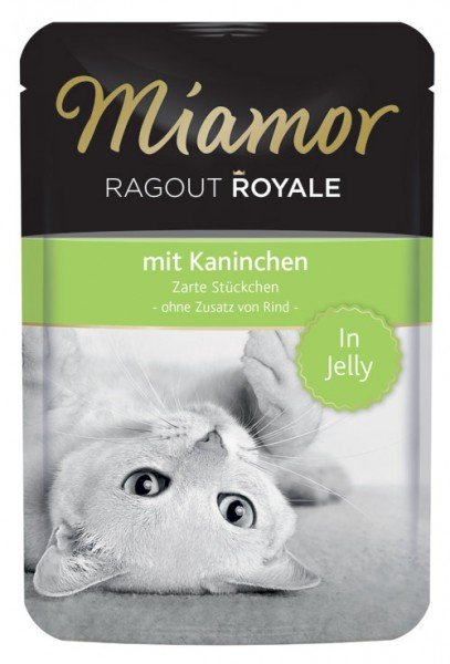 MIAMOR Ragout Royale in Jelly mit Kaninchen - 100g