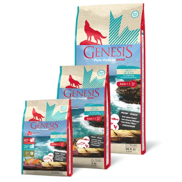 GENESIS Dog Hundefutter - Blue Ocean - Adult