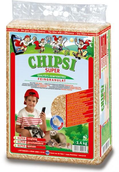 Chipsi Super Heimtierstreu Feingranulat - 3,4 kg