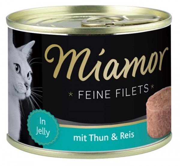 MIAMOR Feine Filets in Jelly mit Thun & Reis - 185g