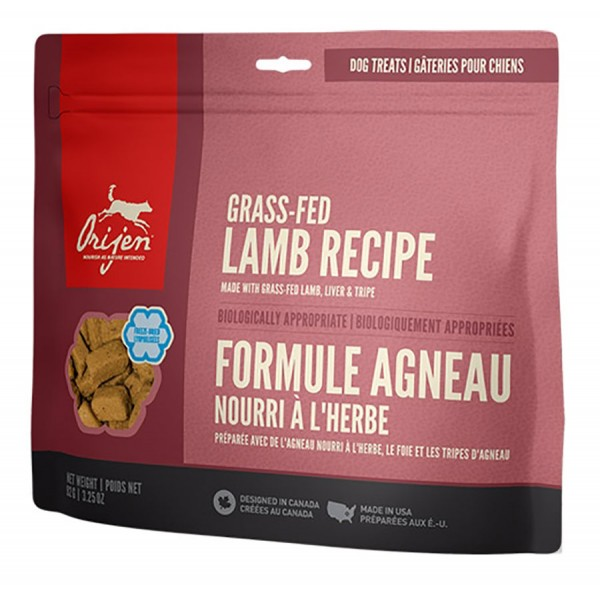 Orijen Hundesnack Treats GRASS-FED LAMB - Single Protein