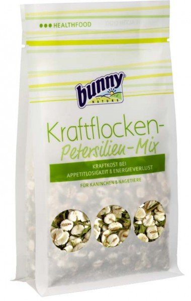 Bunny HealthFood Kraftflocken-Petersilien-Mix - 100g