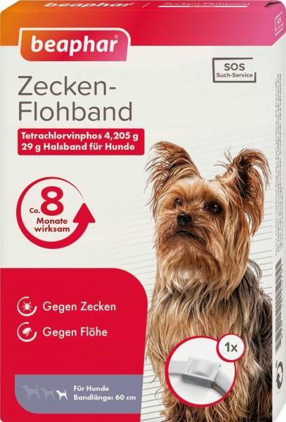 Beaphar Zecken- und Flohband für Hund 60cm