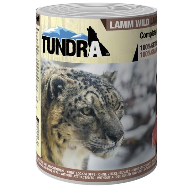 Tundra Katzenfutter Lamm & Wild, Nassfutter