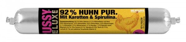 Pussy Deluxe 92% Huhn Pur 100g