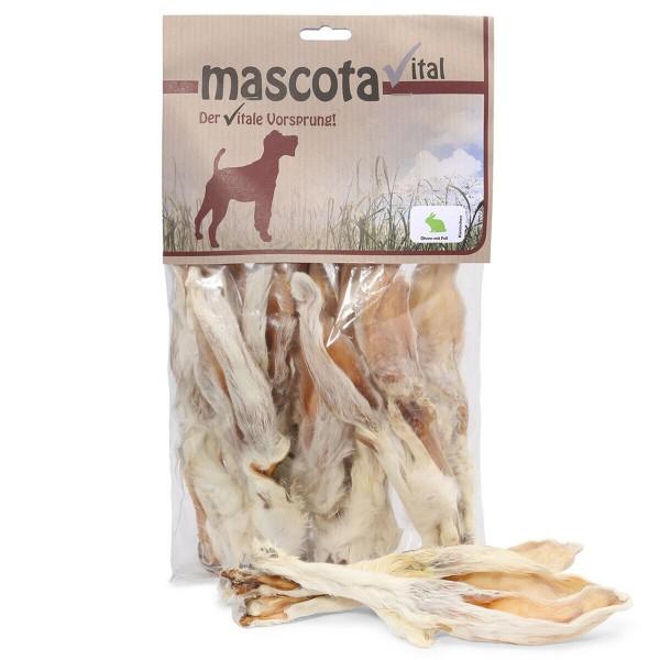 Mascota Kaninchenohren mit Fell - 500 g