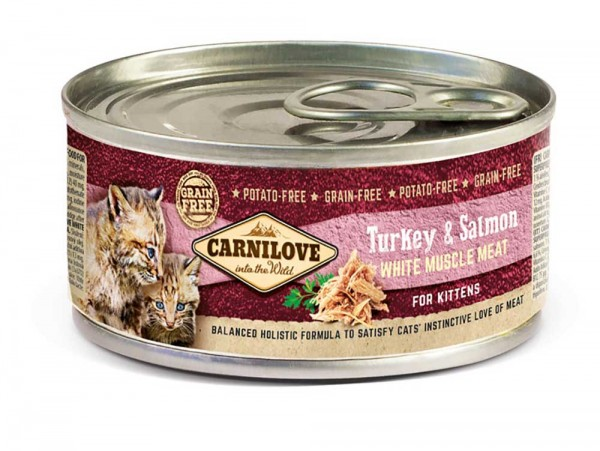 Carnilove Katze Kitten Truthahn & Lachs - Turkey & Salmon