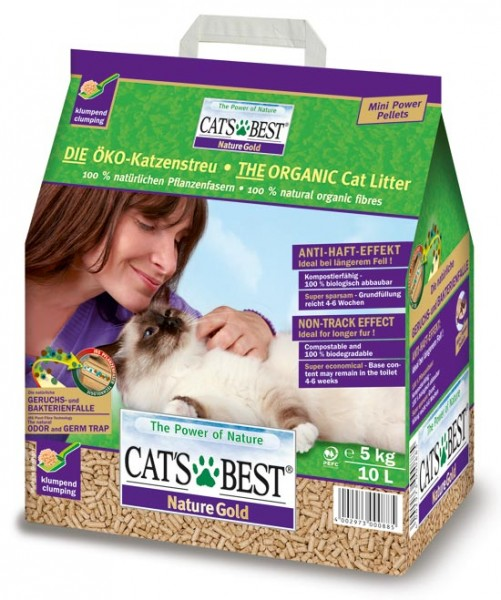 Cat's Best Katzenstreu Nature Gold - 10 l
