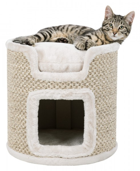 Trixie Kratzbaum Cat Tower Ria 37cm Lichtgrau
