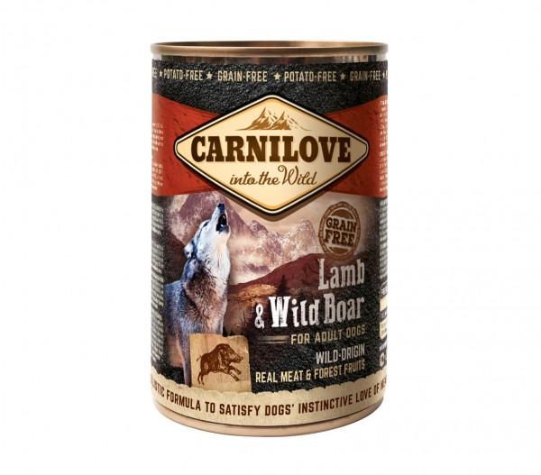 Carnilove Hund Adult Lamm & Wildschwein, Lamb & Wild Boar