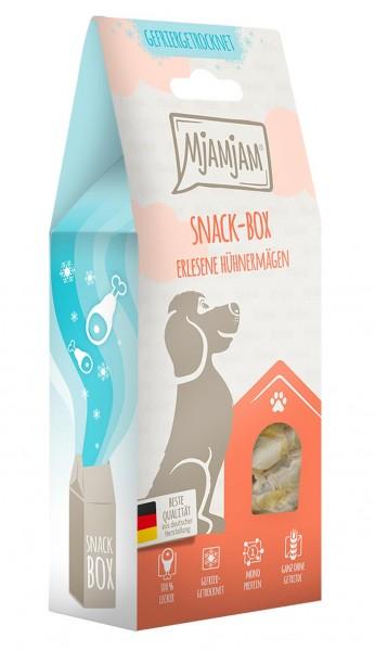 MjAMjAM Snackbox Hund - Hühnermägen - gefriergetrocknet
