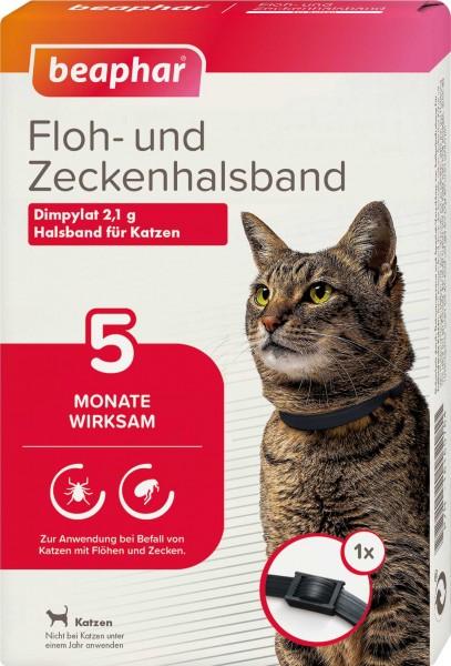 Beaphar Floh- und Zeckenhalsband für Katzen 35cm
