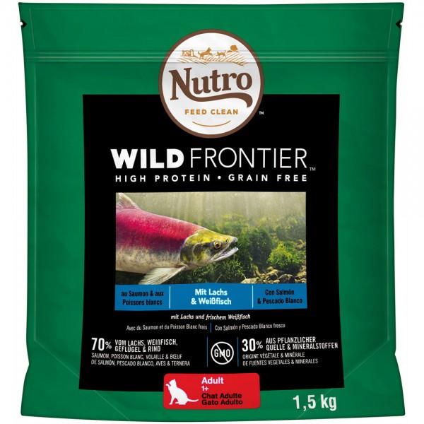 NUTRO Katzenfutter Wild Frontier mit Lachs & Weißfisch