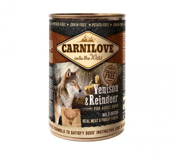 Carnilove Hund Adult Wildfleisch & Rentier, Venison & Reindeer