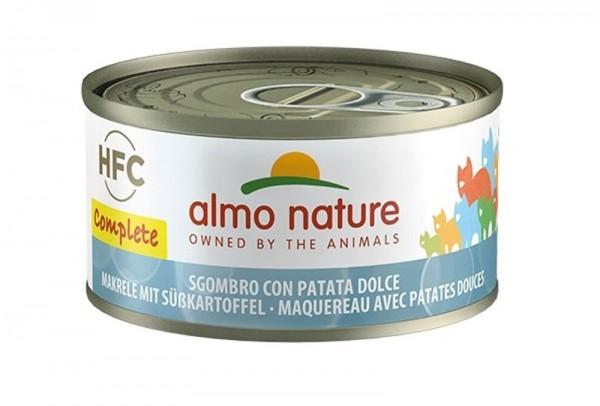 Almo Nature Katzenfutter HFC Complete, Makrele mit Süßkartoffel