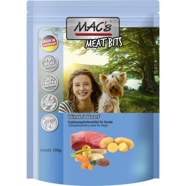 MAC's Dog Meat Bits Snack mit Rind