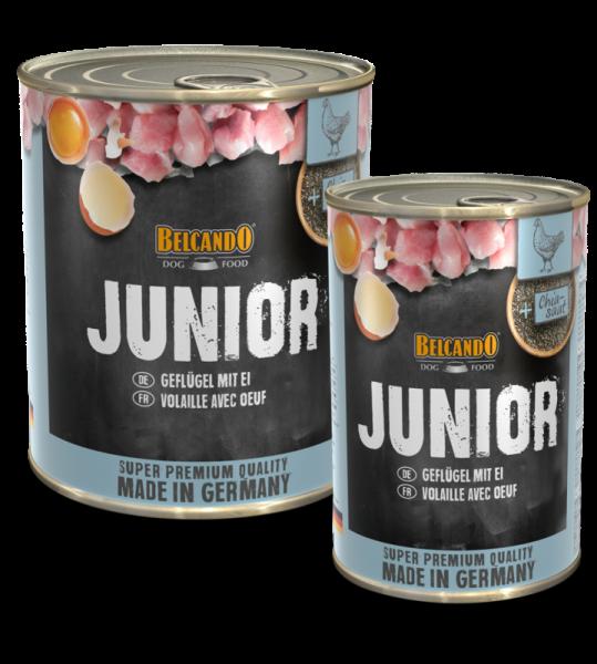Belcando Junior mit Geflügel & Ei