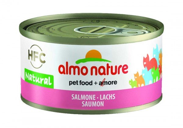 Almo Nature Katzenfutter HFC Jelly mit Lachs