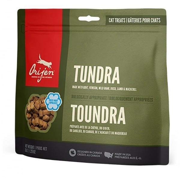 Orijen Katzensnack TUNDRA - Gefriergetrocknet - 35 g