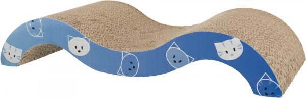 Trixie Kratzwelle Mimi 50 x 9 x 23 cm Blau