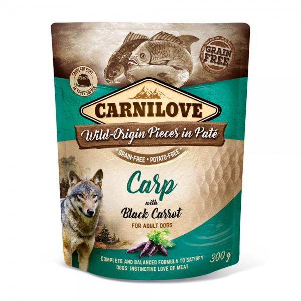 Carnilove Hund Pouch Karpfen, Carp with Black Carrot