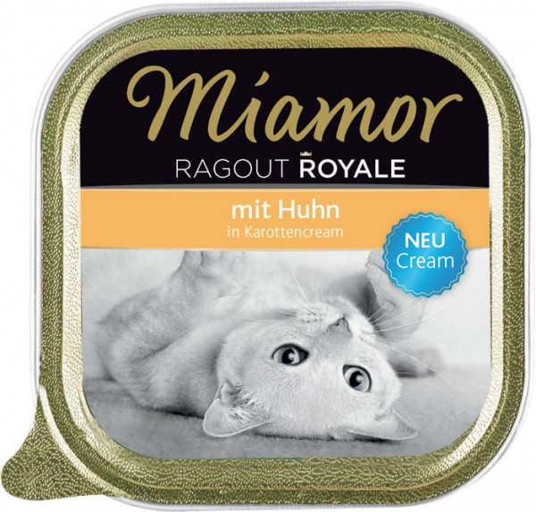 MIAMOR Ragout Royale in Cream mit Huhn