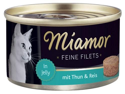 MIAMOR Feine Filets in Jelly mit Thun & Reis - 100g