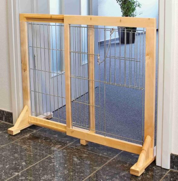 Trixie Hunde-Absperrgitter Holz 61 - 103 x 75 cm
