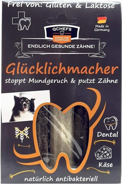 QCHEFS Gkücklichmacher - stoppt Mundgeruch & Zahnbelag 4er Pack