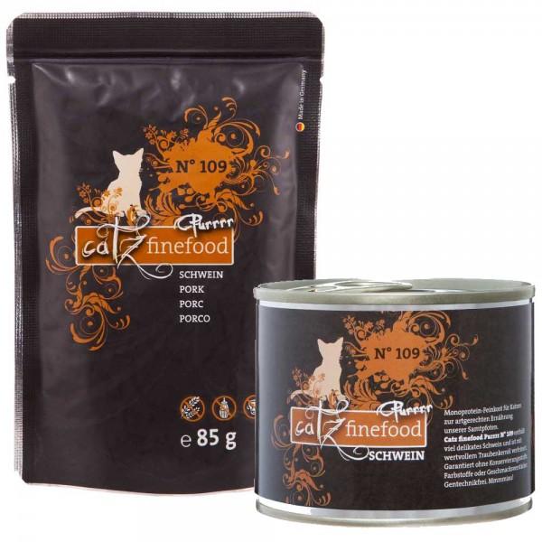 Catz finefood Purrrr No.109 mit Schwein - getreidefrei