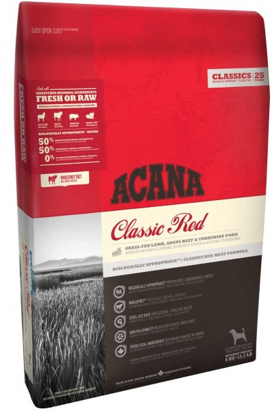 ACANA Hundefutter CLASSIC RED - 6 kg