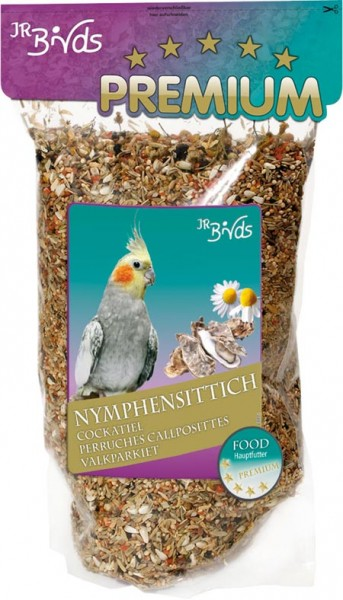 JR Birds Premium Nymphensittich - 1kg