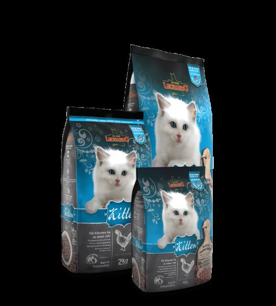 Leonardo Katzentrockenfutter Kitten