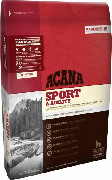 ACANA Hundefutter Heritage Sport & Agility