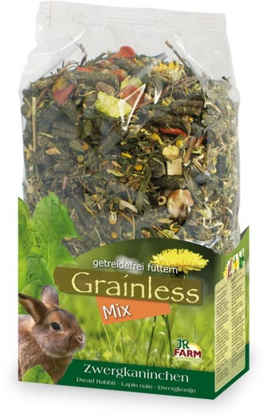 JR Grainless Mix Zwergkaninchen - 650g
